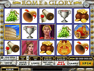 Play Rome & Glory Slots Online