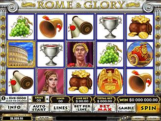 Play Rome & Glory Online Pokies