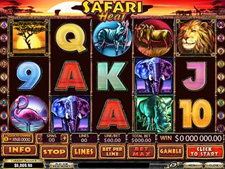 Spielen sie Safari Heat Spielautomaten Online