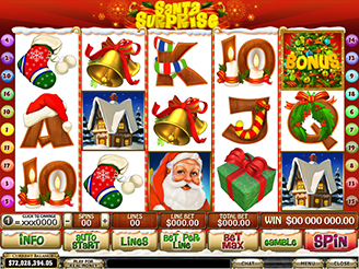 Play Santa Surprise Online Pokies