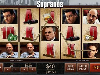 Spielen sie The Sopranos Spielautomaten Online