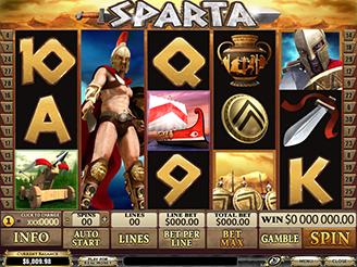 Spielen sie Sparta Spielautomaten Online