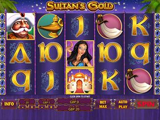 Spielen sie Sultan's Gold Spielautomaten Online