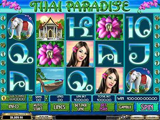 Spielen sie Thai Paradise Spielautomaten Online