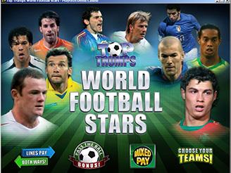 Spielen sie Top Trumps World Football Stars Spielautomaten Online