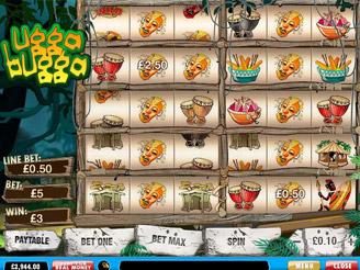 Spielen sie Ugga Bugga Spielautomaten Online