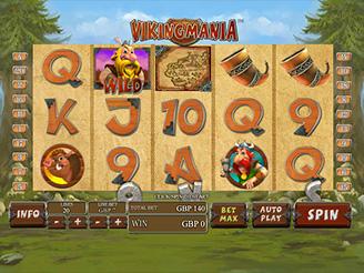 Spielen sie Vikingmania Spielautomaten Online
