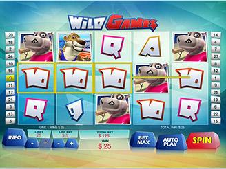 Spielen sie Wild Games Spielautomaten Online