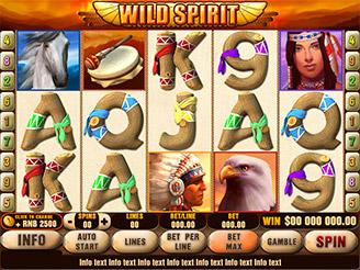 Spielen sie Wild Spirit Spielautomaten Online