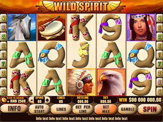 Play Wild Spirit Online Pokies