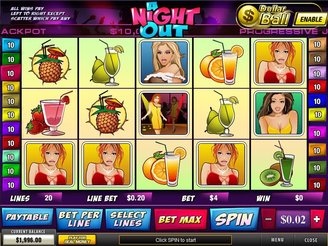 Play A Night Out Online Pokies