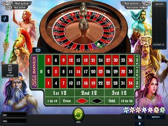 Play Age of the Gods Roulette Online