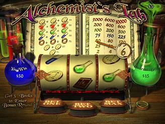Spielen sie Alchemist's Lab Spielautomaten Online