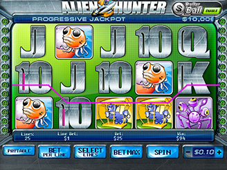 Spielen sie Alien Hunter Spielautomaten Online