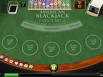 Play American Blackjack Online