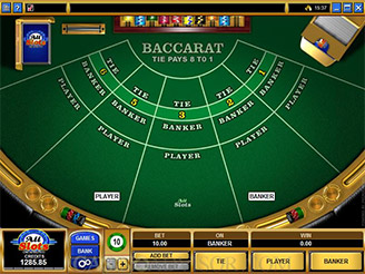 Play Baccarat Card Games Online