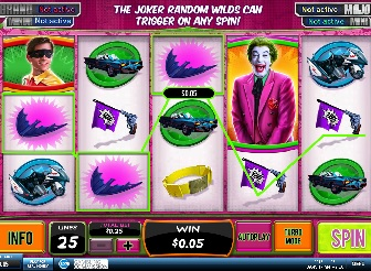 Play Batman and the Joker Jewels Slots Online