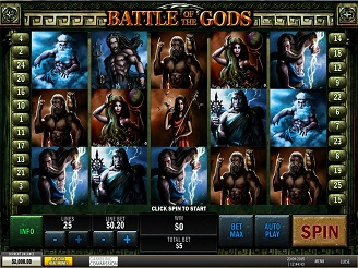 Play Battle of the Gods Slots Online