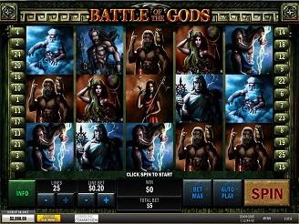 Spielen sie Battle of Gods Spielautomaten Online