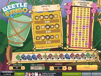 Play Beetle Bingo Scratch Online