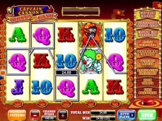 Spielen sie Captain Cannon Spielautomaten Online