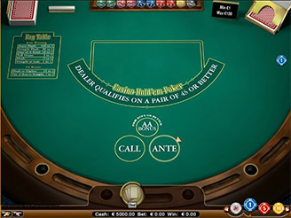 Play Casino Hold'Em Video Poker Online