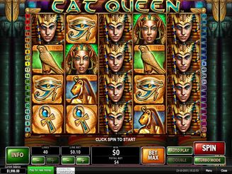 Spielen sie Cat Queen Spielautomaten Online