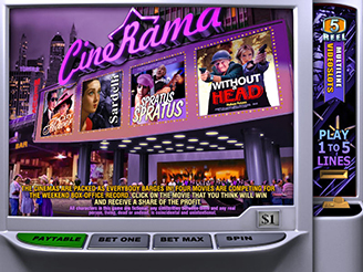 Play Cinerama Online Pokies
