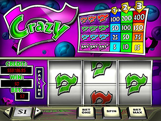 Play Crazy 7 Online Pokies