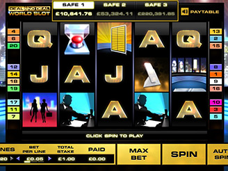 Play Deal Or No Deal UK Slots Online