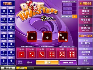 Play Dice Twister Arcade Online