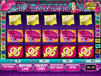 Spielen sie Dr Lovemore Spielautomaten Online