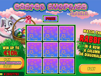 Play Easter Surprise Scratch Games Online