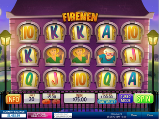 Play Firemen  Slots Online