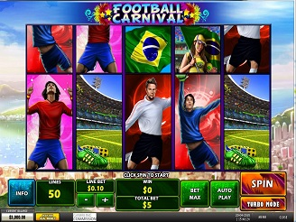 Spielen sie Football Carnival Spielautomaten Online