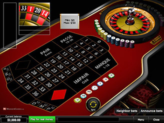 Play French Roulette Multiplayer Online