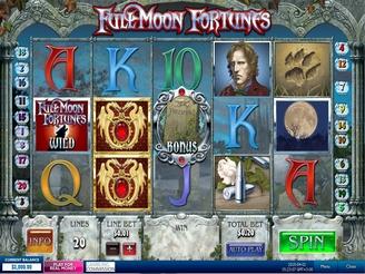 Play Full Moon Slots Online