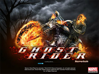 Play Ghost Rider Scratch Online