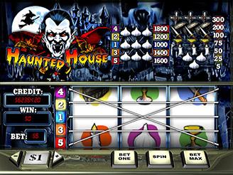 Spielen sie Haunted House Spielautomaten Online
