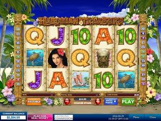 Play Hawaiian Treasure Slots Online