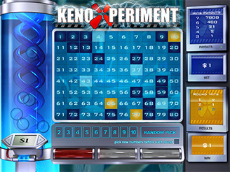 Play Keno Xperiment Arcade Online