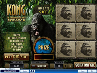 Play Kong Scratch Games Online