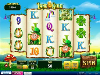 Play Land of Gold Online Pokies