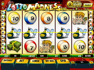 Play Lotto Madness Slots Online