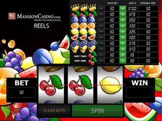 Play Mansion Casino Reels Slots Online