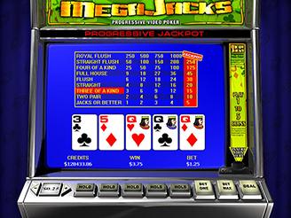 Play Megajacks Video Poker Online