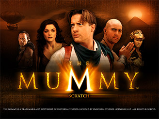 Play The Mummy Scratch Online