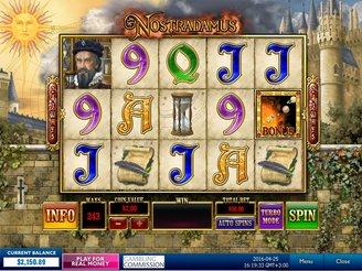 Play Nostradamus Online Pokies