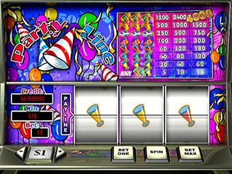 Play Party Line Slots Online