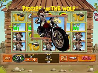 Play Piggies And The Wolf Slots Online